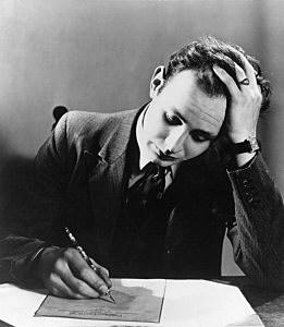 Letter Writer Man