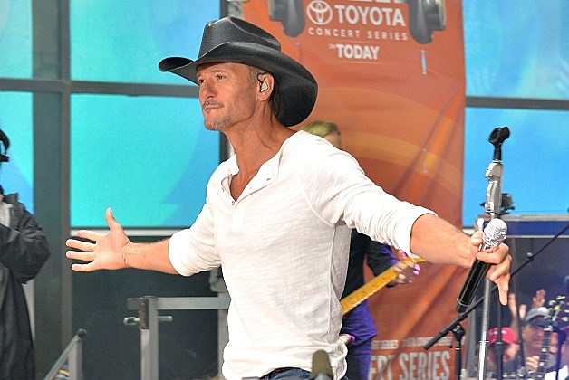 "Tim McGraw Performs On NBC's ""Today"""