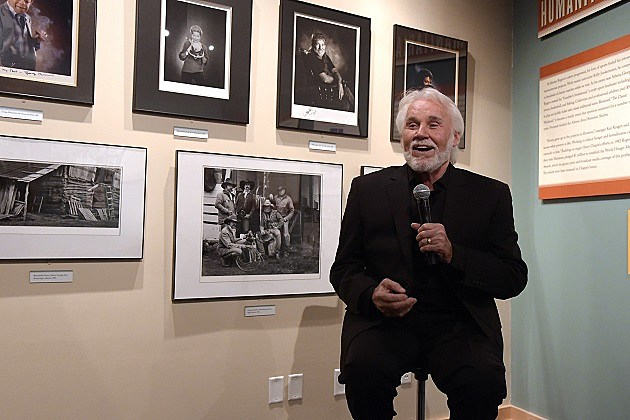Country Music Hall Of Fame Kenny Rogers Exhibit Opening Reception