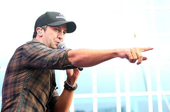 "Luke Bryan Performs On ABC's ""Good Morning America"""
