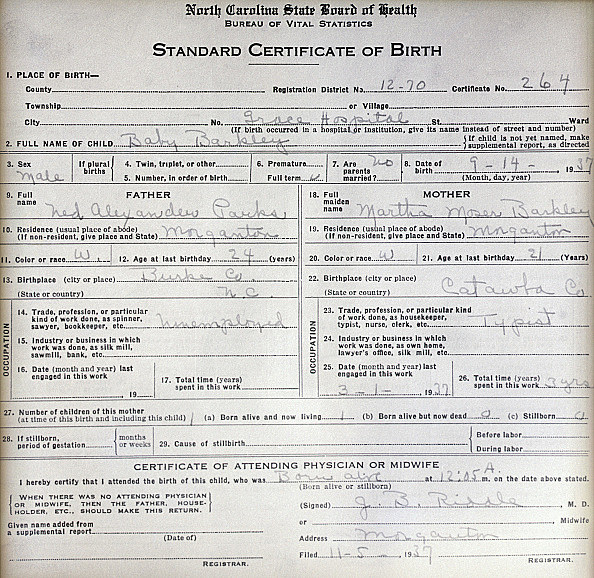 Some Iowans Might Need New Birth Certificates