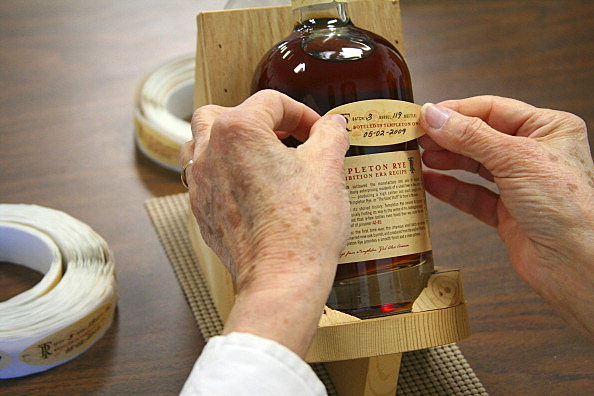 Templeton Rye Whiskey in Iowa
