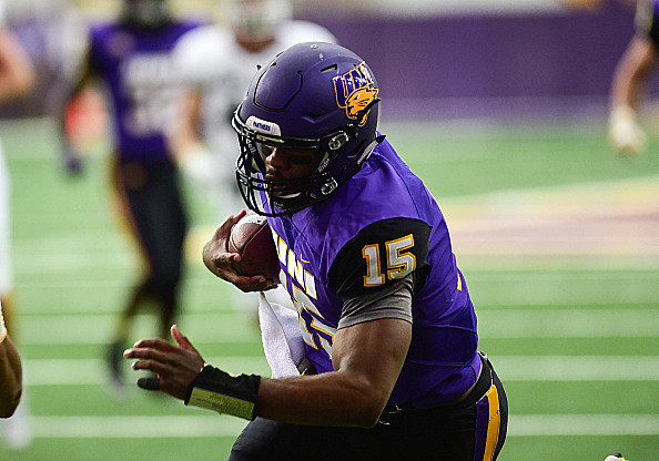 NCAA FOOTBALL: SEP 10 Montana at Northern Iowa