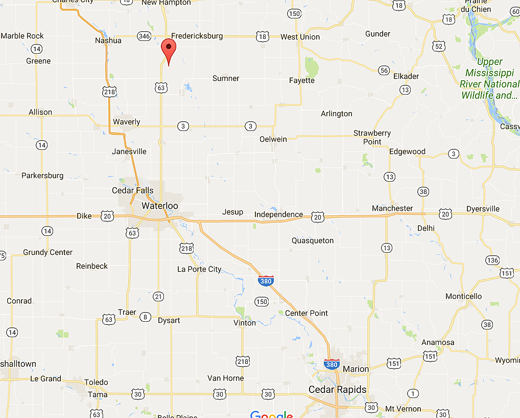 Map Of Iowa Towns Map Of Honduras - Map of iowa towns