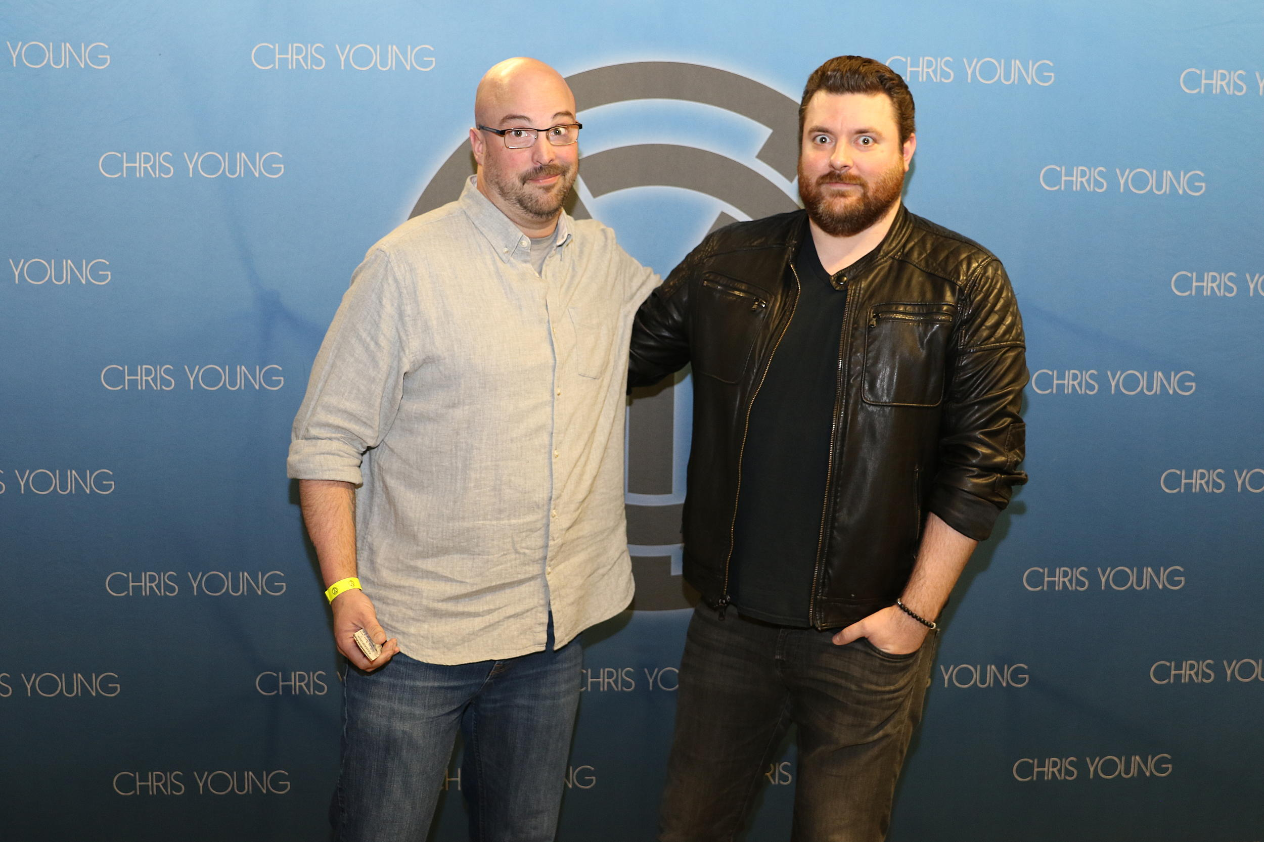See brains hilarious meet and greet encounter with chris young chrisyoungcountry kristyandbryce Image collections