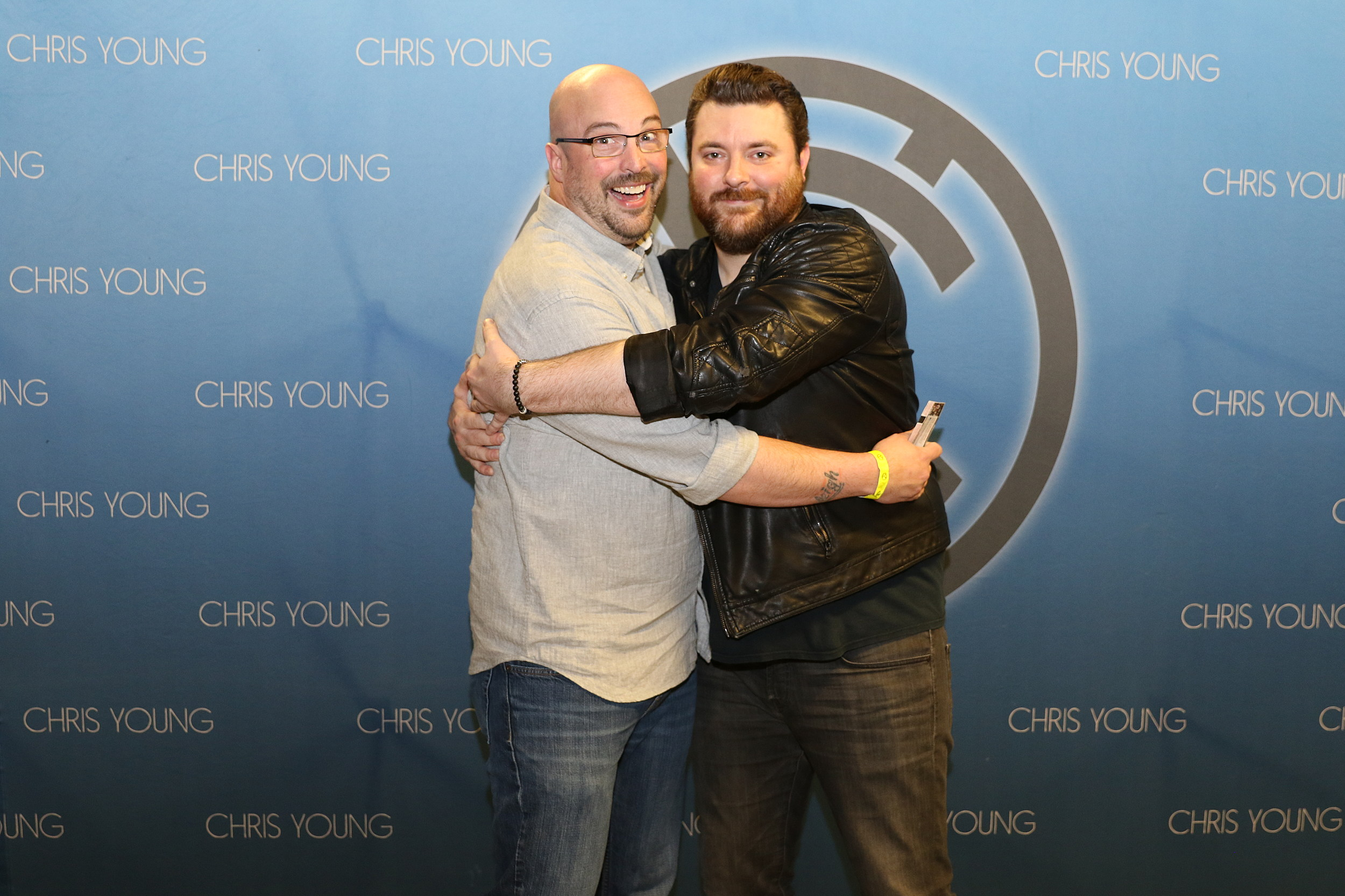 See Brains Hilarious Meet And Greet Encounter With Chris Young