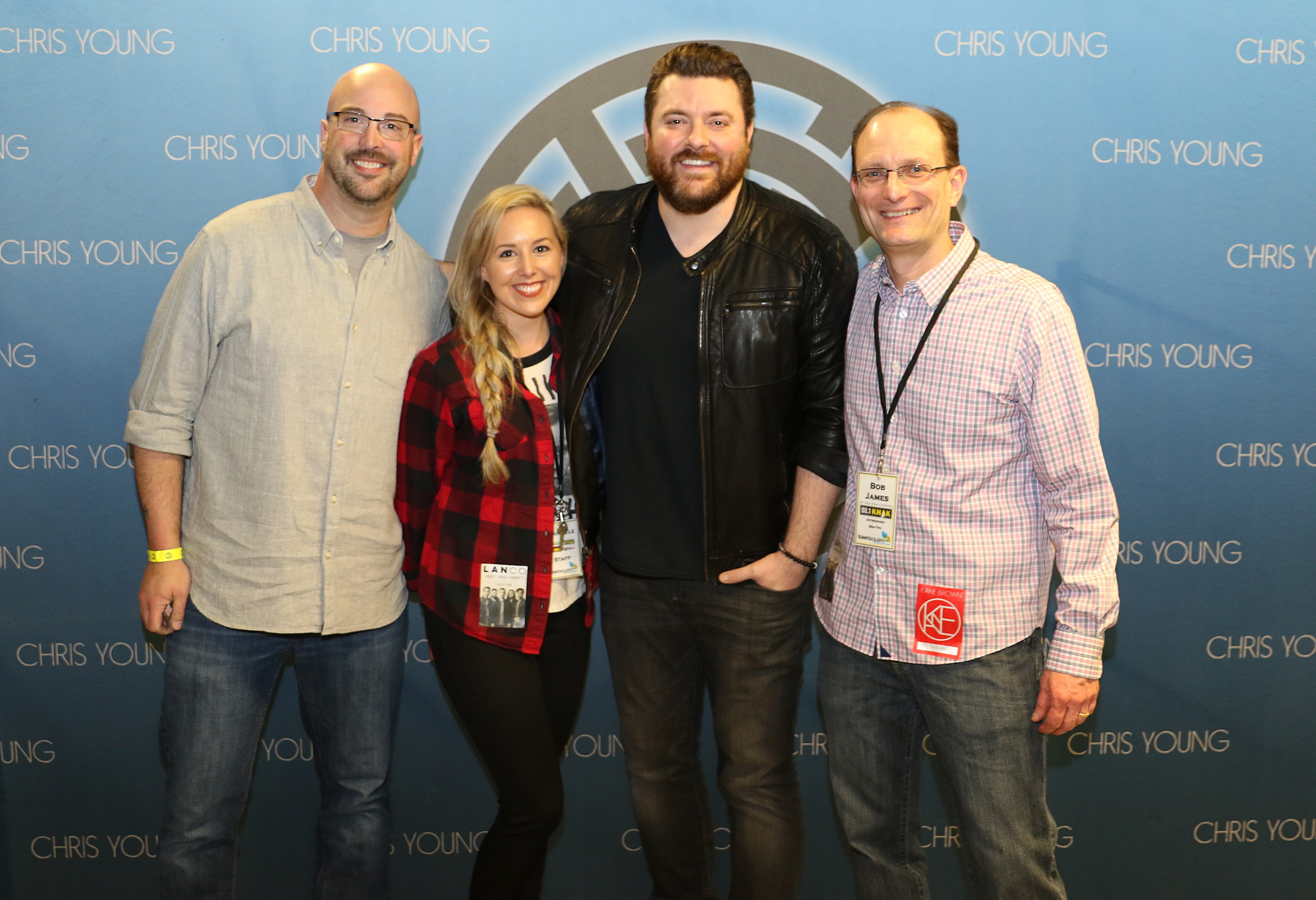 See brains hilarious meet and greet encounter with chris young kristyandbryce Image collections